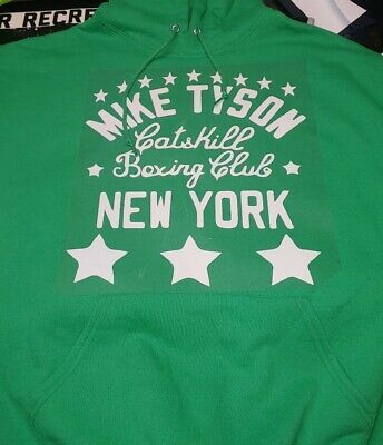 $23.99 • Buy New Mike Tyson New York Catskill Boxing Club Sweatshirt Hoodie Gym Bar Shirt