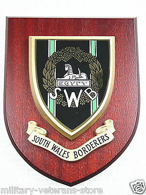 Swb South Wales Borderers Classic Regimental Hand Made In The Uk Wall Plaque • 19.99£