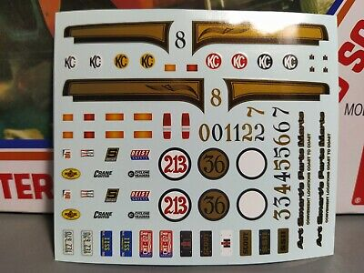 $8.54 • Buy 🌟 Decal Sheet - International Scout 1:25 1000s MODEL CAR PARTS 4 SALE