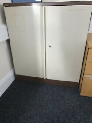 Bisley Cupboard 2 Door Grey • 40£