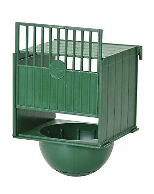 10 X CANARY NEST PAN PLASTIC BOX HANGS ON OUTSIDE OF CAGE IDEAL FOR SMALL BIRDS • 27.50£