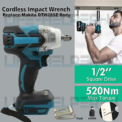 Cordless Impact Wrench For Makita DTW285Z Brushless 1/2  18V Li-ion Body Only UK • 43.98£