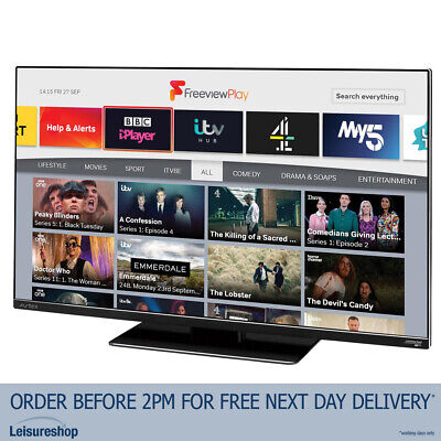£419.99 • Buy Avtex 249DSFVP 24  12V/240V Wi-Fi Connected HD TV With Freeview Play