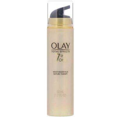 AU66 • Buy Olay, Total Effects, 7-in-One Moisturizer Plus Mature Therapy, 1.7 Fl Oz (50 Ml)