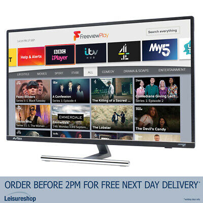 £429.99 • Buy Avtex 279DSFVP 27  12V/240V Wi-Fi Connected HD TV With Freeview Play