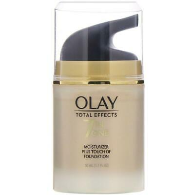 AU66 • Buy Olay, Total Effects, 7-in-One Moisturizer Plus Touch Of Foundation, 1.7 Fl Oz (5