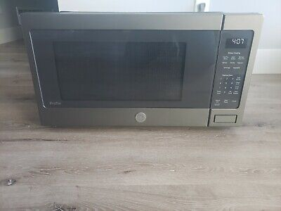 $165 • Buy GE Profile Slat Countertop Microwave Oven