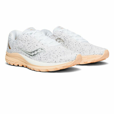 Saucony Womens Jazz 20 Running Shoes Trainers Sneakers White Sports Breathable • 39.99£