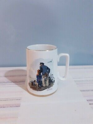 $ CDN9.94 • Buy Norman Rockwell Museum Collectible Coffee Mug Cup Looking Out To Sea 1985