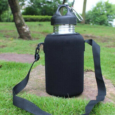 AU9.35 • Buy 2L Durable Travel Stainless Steel Tea Water Bottle Carrier Insulated Bag Pouch