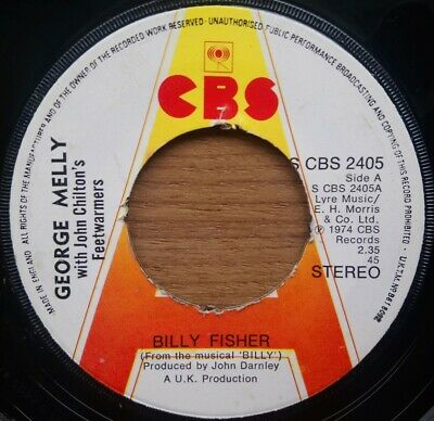 George Melly + - Billy Fisher - Vinyl Record - 45 RPM • 7.99£