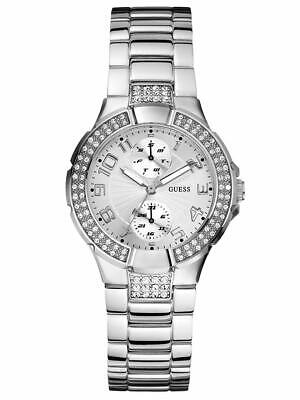 $ CDN114.12 • Buy Guess U12003L1 Steel Link Bracelet Women's Watch