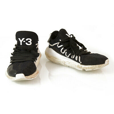 AU85.99 • Buy Y-3 Adidas Yohji Yamamoto Kusari Black White Sole Sneakers Trainers Shoe US 6.5