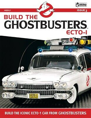 BUILD THE GHOSTBUSTERS ECTO-1 - Issue #2 (BRAND NEW/SEALED) • 6.50£
