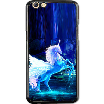 AU9.50 • Buy Hard Case Phone Cover For Oppo A59 F1s, R9s, R9s Plus - Unicorn Magic