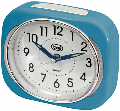 £12.38 • Buy Trevi Retro Bedside/Travel Alarm Clock With LED Backlight And Silent Sweep Hand,