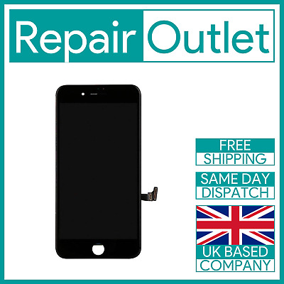Apple IPhone 8 Plus Black LCD Screen Digitizer Display Replacement 3D Touch • 20.49£