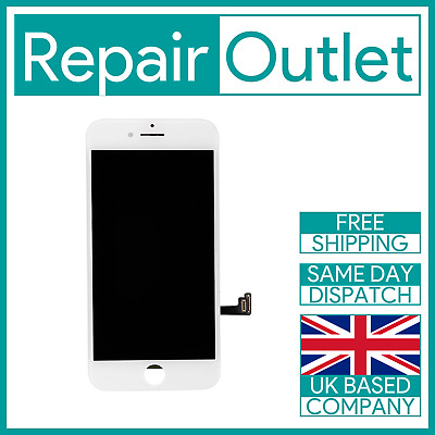 Apple IPhone 8 Plus White LCD Screen Digitizer Display Replacement 3D Touch • 19.99£