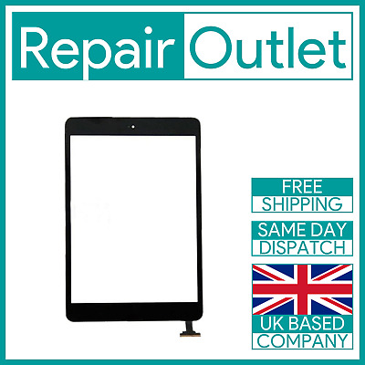 £12.49 • Buy OEM IPad Mini 1 / Mini 2 Black Screen Replacement Digitizer With IC Home Button