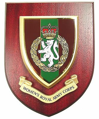 Wrac Regimental Mess Plaque • 19.99£