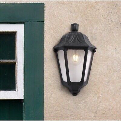 Black Outdoor Wall Light • 9.99£