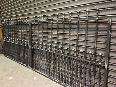 Brand New Wrought Iron Driveway Gate Posts 5ft High • 80£