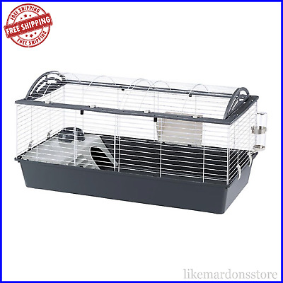 £65.95 • Buy FERPLAST Casita 120 Rabbit Cage - Grey, Practical For Guinea Pigs And Rabbits