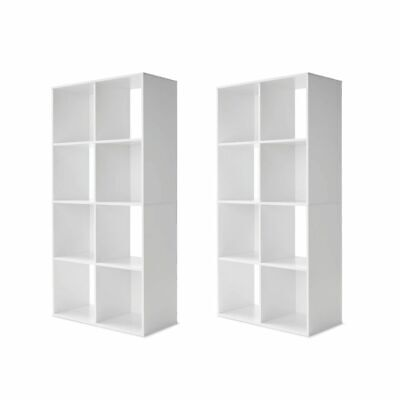 AU114.99 • Buy 2 X 8 Cube Storage Shelf DIY Cabinet Cupboard Organizer Bookshelf Display Unit