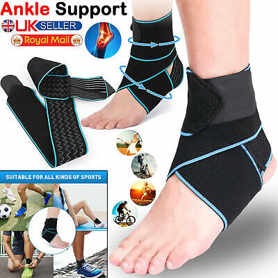 £4.10 • Buy Ankle Support Adjustable Ankle Brace Breathable Nylon Material Elastic