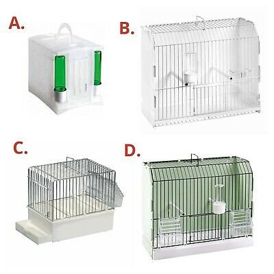 £11.95 • Buy Bird Travel Transport Carry Cage / Box For Finch Canary Budgie In Options