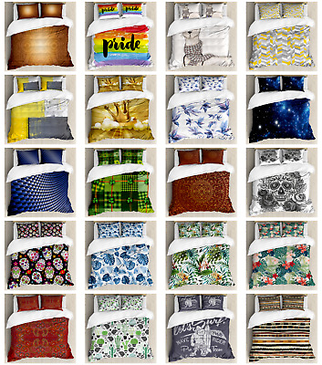 $29.90 • Buy Ambesonne Pillow Shams Bedding Set Duvet Cover Set With Queen Twin King Sizes