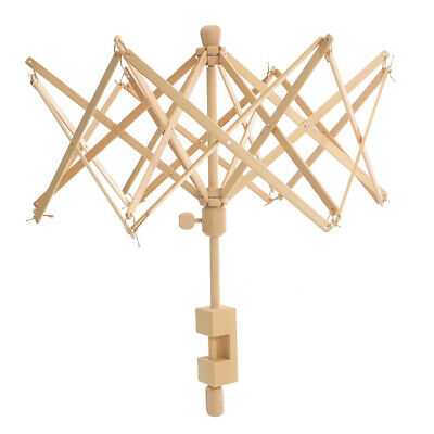 Wooden Hand Operated Winder For Swift Yarn Thread Fibers String Wool Accessories • 24.08£
