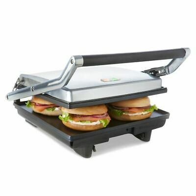 AU56.95 • Buy Cafe Electric Large 4x Sandwich Press Maker Grill Toaster Non Stick Flat Plates