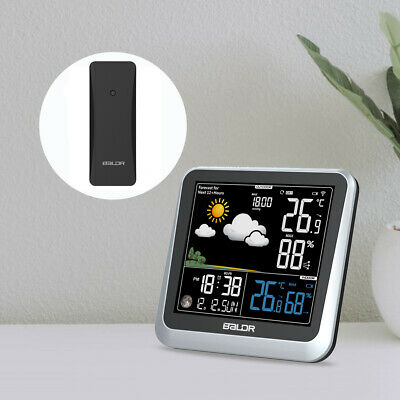 $39.95 • Buy BALDR B0336 LCD Weather Station Wireless Indoor Outdoor Thermometer Hygrometer