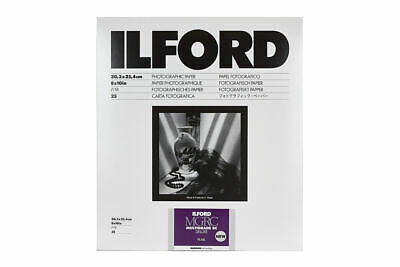 Ilford Multigrade RC Deluxe Pearl 8x10 Inches 25 Sheets Photographic Paper • 19.99£