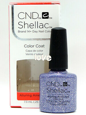 AU14.21 • Buy CND Shellac GelColor 0.25fl.oz UV/LED Nail Polish #91263- Alluring Amethyst