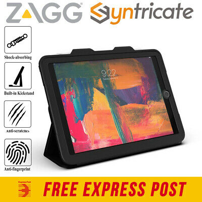 AU89.95 • Buy IPad 9.7 (6th/5th) ZAGG Rugged Messenger Case With Visionguard Screen Protector