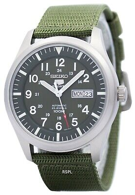 $ CDN168.63 • Buy Seiko 5 Military Automatic Sports SNZG09 SNZG09K1 SNZG09K Men's Watch
