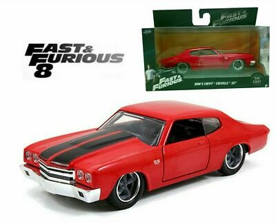 AU24.95 • Buy Jada 1:32 Dom's Chevy Chevelle Ss Fast And Furious Diecast Model Car Toy Gifts
