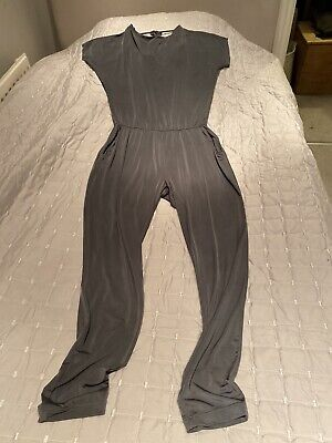 Stunning Armani Exchange Silver Grey Jumpsuit Size M • 15£
