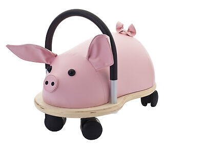 Wheelybug - Toddlers Ride-On Push Along Toy - Pig - Multi-Directional • 65.95£