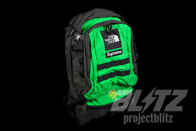$ CDN327.61 • Buy Supreme The North Face Rtg Backpack Bright Green Ss20 2020 Gold Black Red Tnf