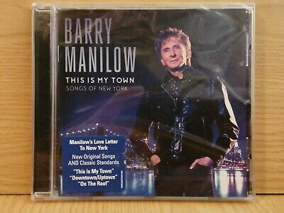BARRY MANILOW This Is My Town (2017) 10-track CD Album NEW/SEALED • 5£