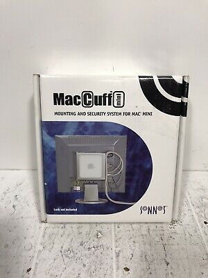 $29.99 • Buy Sonnet MacCuff Mini Mounting And Security System For Mac Mini Silver Gray