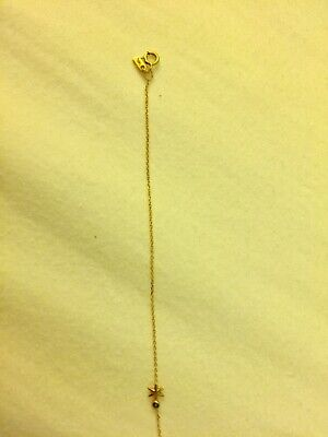 AU275 • Buy Sarah And Sebastian Fine Gold Bracelet With Black Diamond