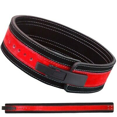 £39.99 • Buy Weight Power Lifting Leather Lever Pro Belt Gym Training Powerlifting