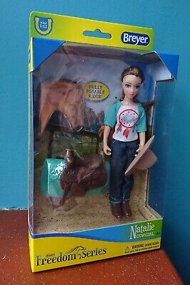 £19.99 • Buy Breyer 62025 Natalie Cowgirl Rider Classics 1:12 Scale Fully Poseable Doll Horse