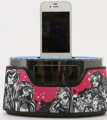 AU32.17 • Buy Monster High Alarm Clock Radio IPhone IPod Dock FREE N FAST SHIPPING