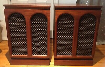 $400 • Buy Mid Century Modern Barzilay Speaker Cabinets For Tannoy , Altec , Jbl