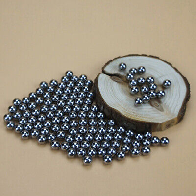 AU16.19 • Buy 200Pcs Smooth 6mm Lustrous Round Beads Metal Bearings Ball For Machine Slingshot